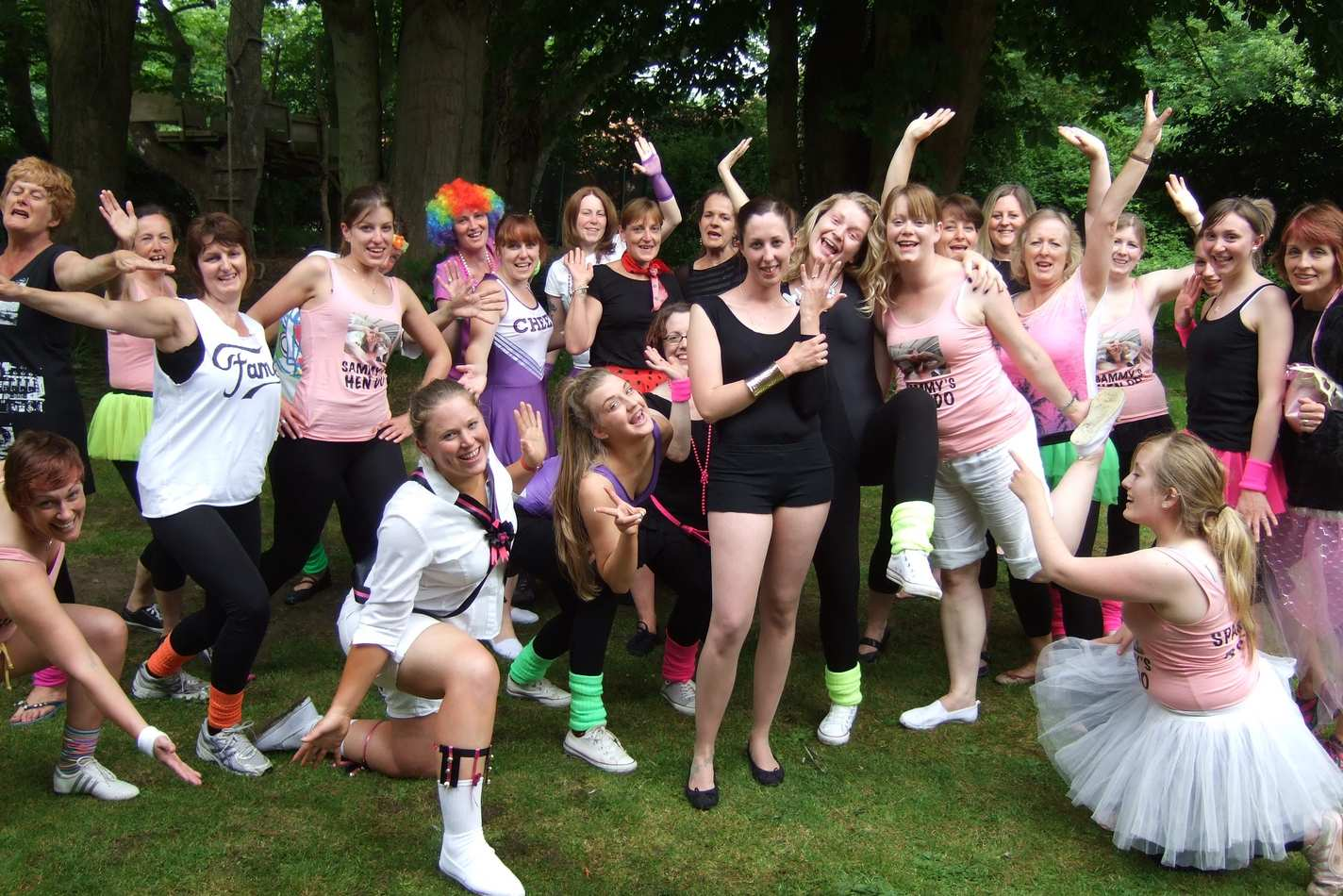 Beyonce hen dance party in North Norfolk