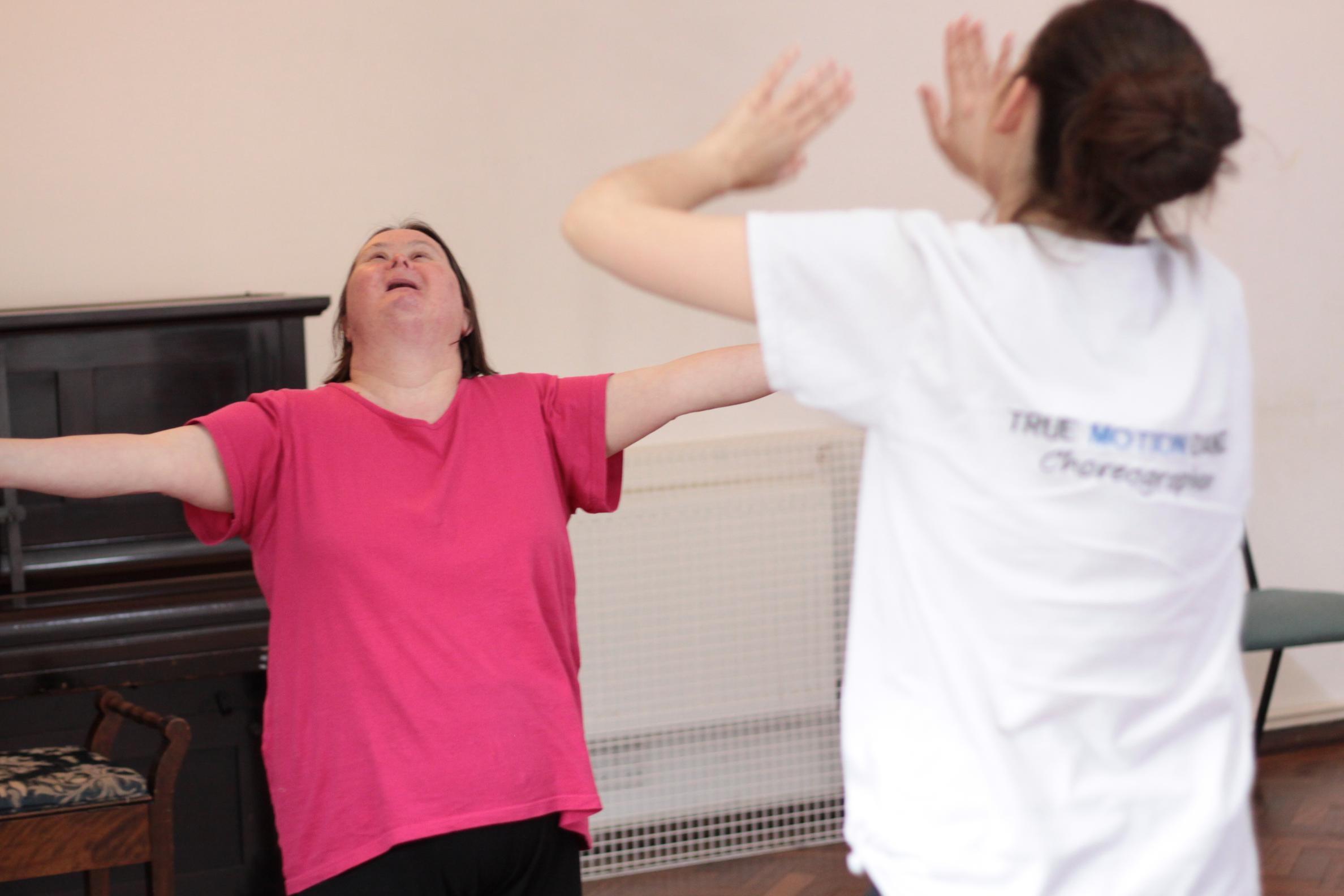 Dance disability class North Norfolk