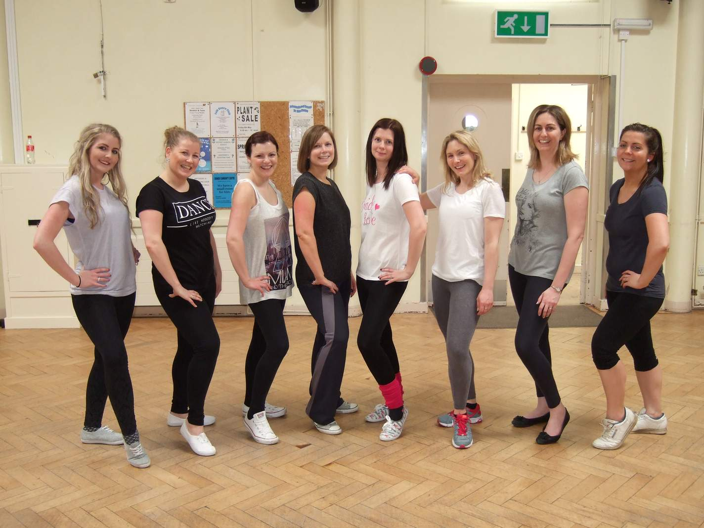 Dance fitness class for adults in Sheringham and Cromer, North Norfolk