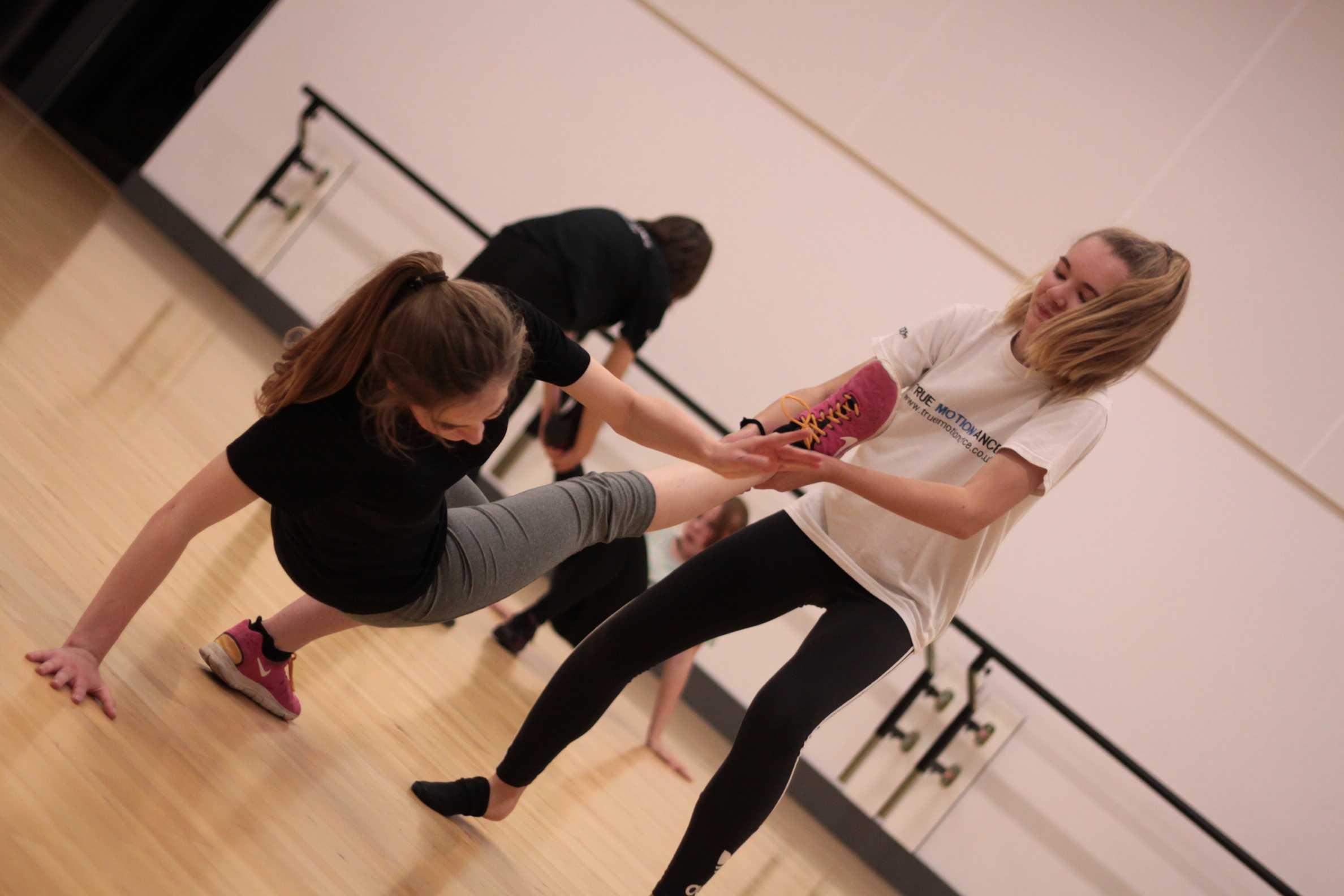 Youth dance company class