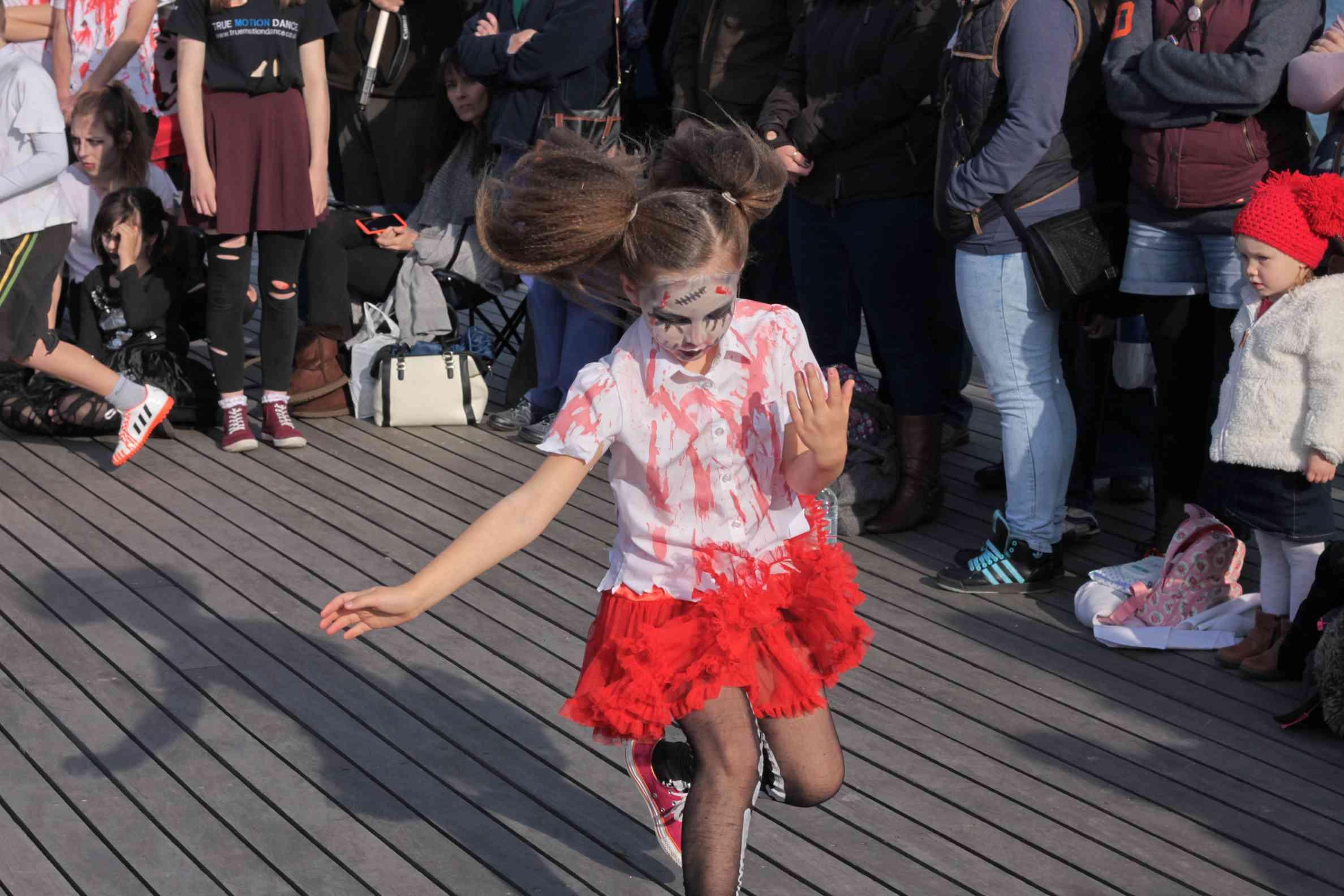 Halloween dance routine