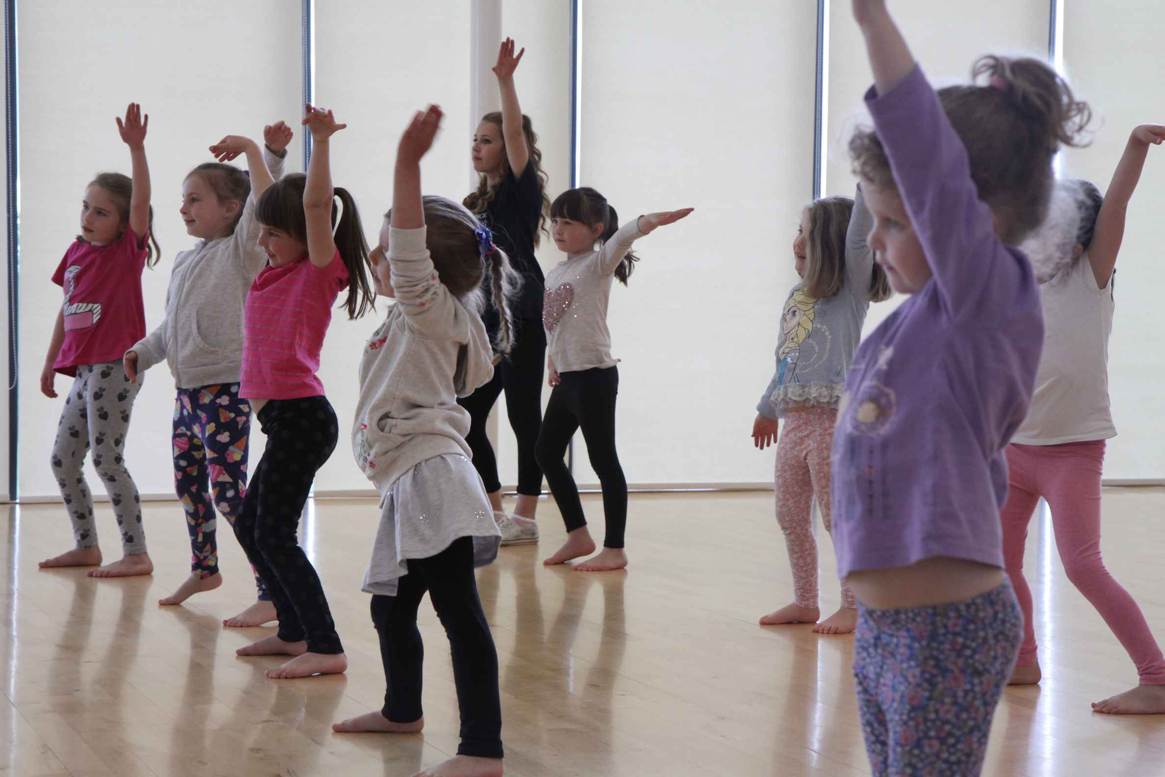 Mini Movers ages 4-7 youth dance class Sheringham and North Walsham North Norfolk