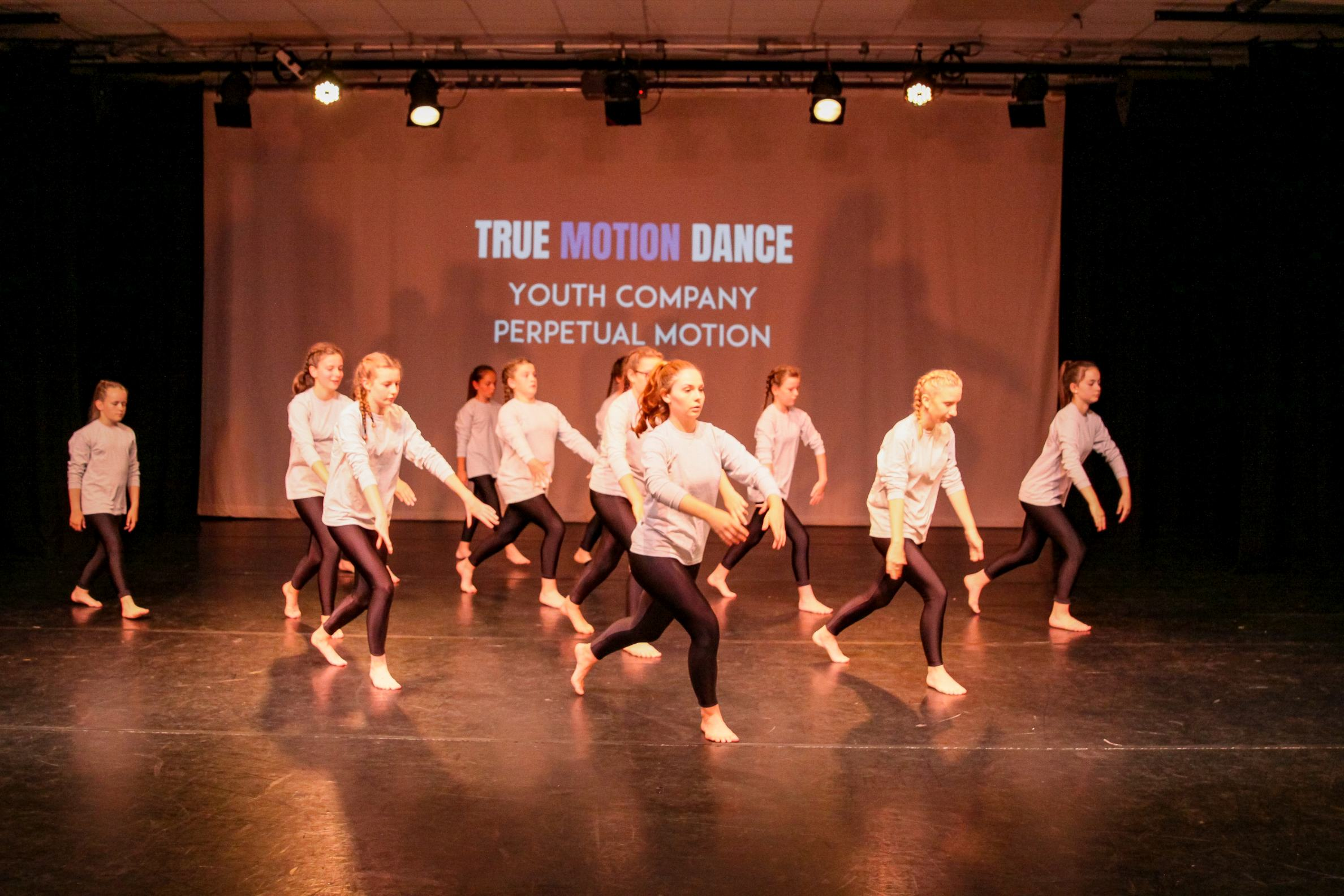 Elite youth dance company performance